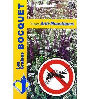 Mélange écologique de graines de fleurs Anti-Moustiques