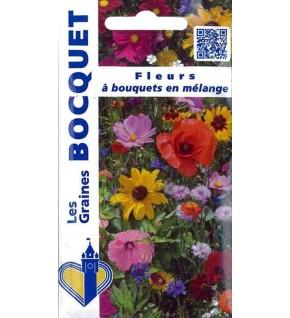 Fleurs à bouquets en mélange
