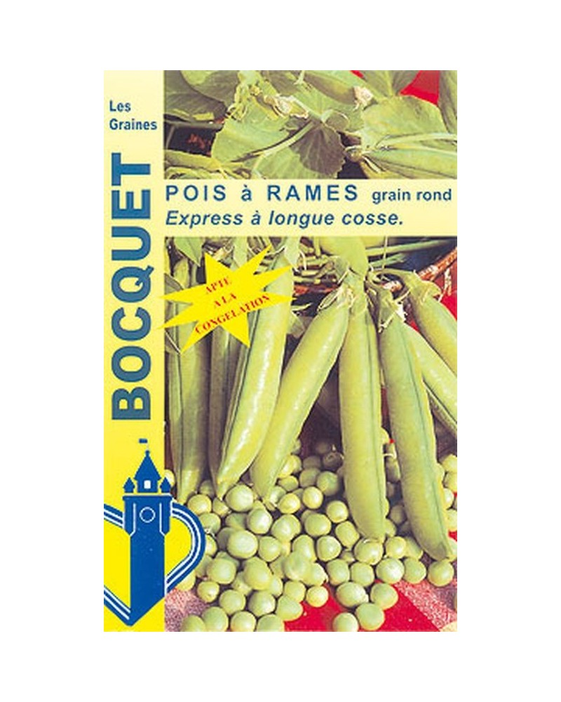 Pois rames Express longue cosse 200g