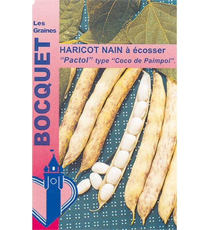 Haricot nain à écosser Pactol 90g (type coco paimpolais)