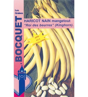 Haricot nain beurre Roi des beurres 110g (Kinghorn)