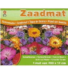 Tapis de graines : Jardin de fleurs