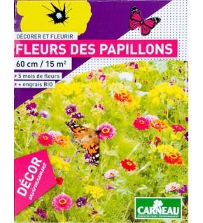 Fleurs des papillons 520g pour 15 m2