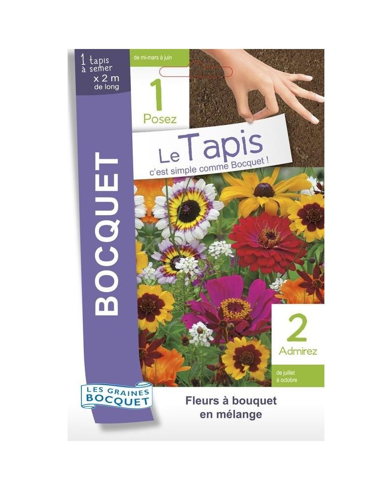 Tapis de graines de fleurs pour bouquets en mélange