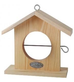 Maison à pomme pour oiseaux forme ROND