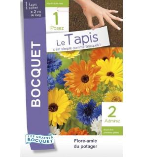 Tapis de graines Bocquet Flore-Amie du potager